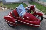 Jawa 350/354 + sidecar Velorex 560